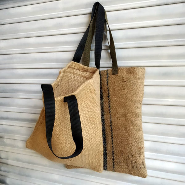 Bolsa de tela de saco por encargo