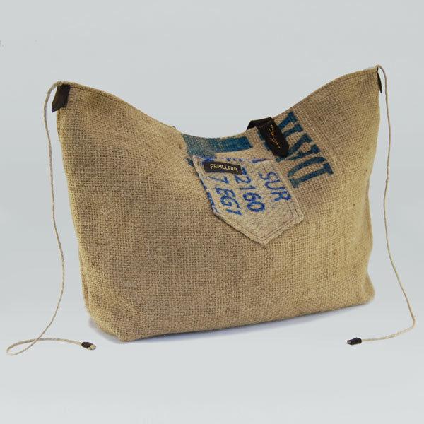 Bolso hecho de sacos de café modelo Arábica Dak