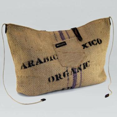 Bolso de tela hecho a mano Arábica Méxic