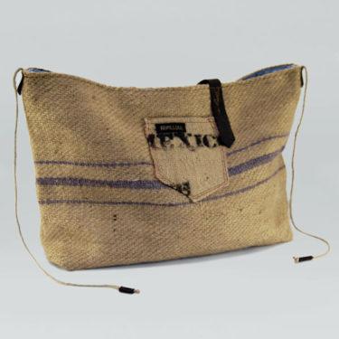 Bolso de tela de saco modelo Arábica Orgánic