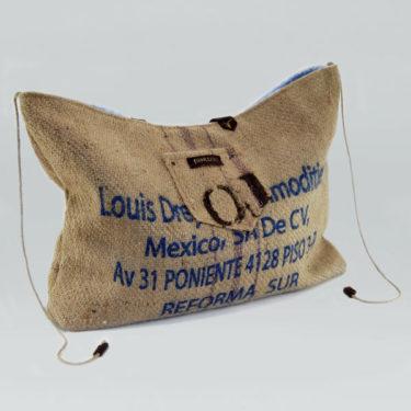 Bolso de tela de saco modelo Arábica Poniente