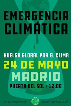 Concentración por el Clima en Madrid