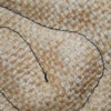 Detalle del material tela de arpillera en manopla