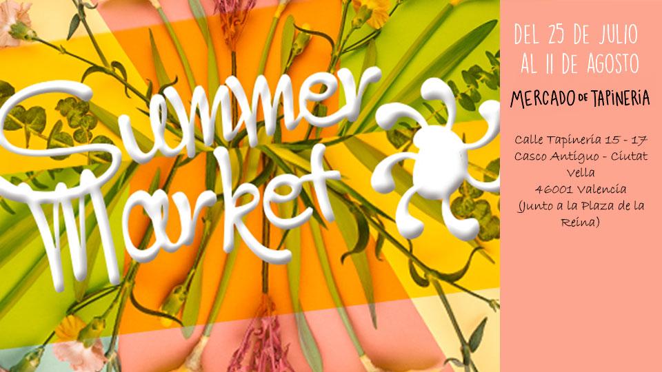 Summer Market Mercado de Tapineria en Valencia